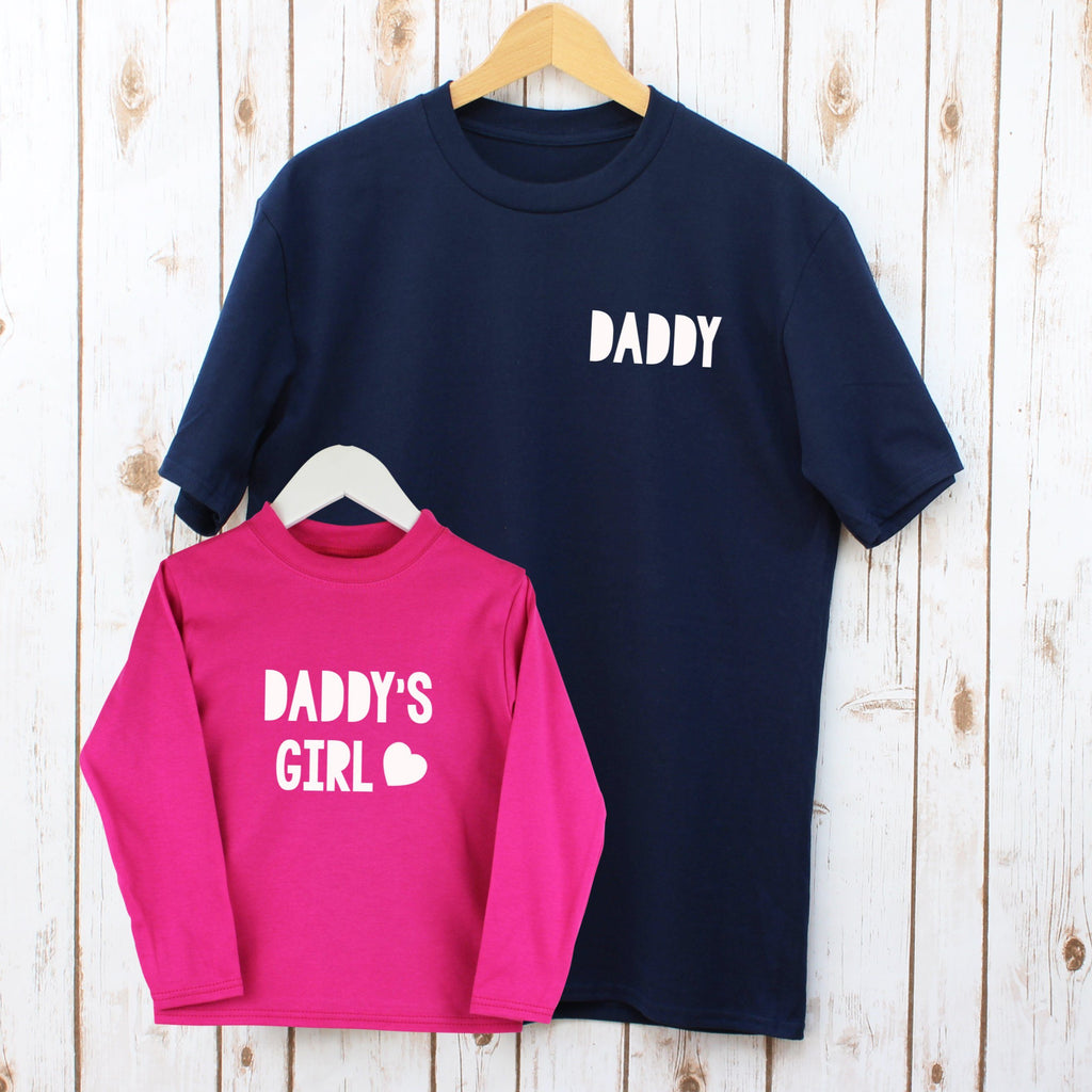 Father's Day Daddy And Daughter Matching T Shirts, - Betty Bramble