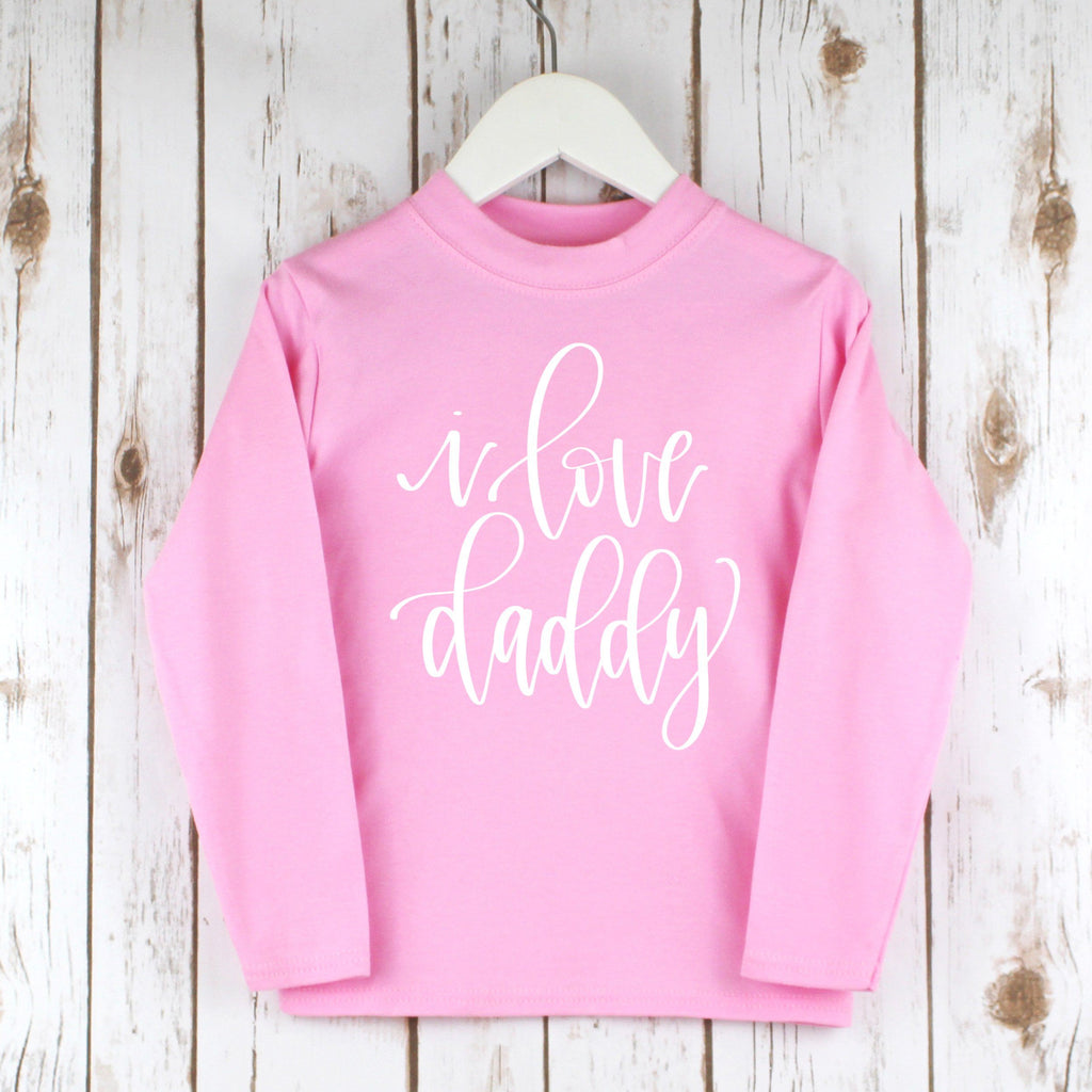 I love Daddy Child's T Shirt,Kids T Shirts - Betty Bramble