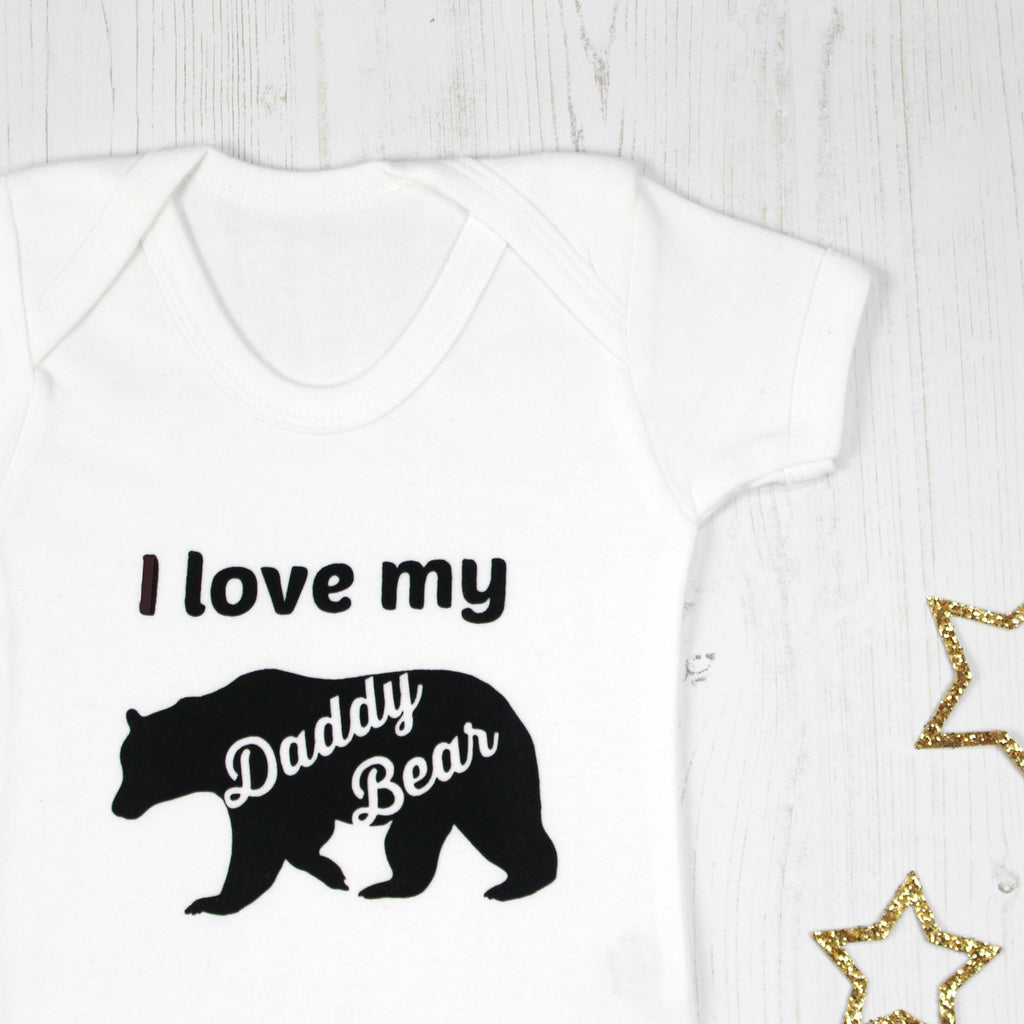 Fathers Day I love my Daddy Bear Onesie, - Betty Bramble