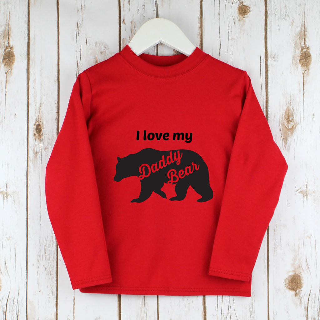 Father's Day Bear T Shirt,Kids T Shirts - Betty Bramble