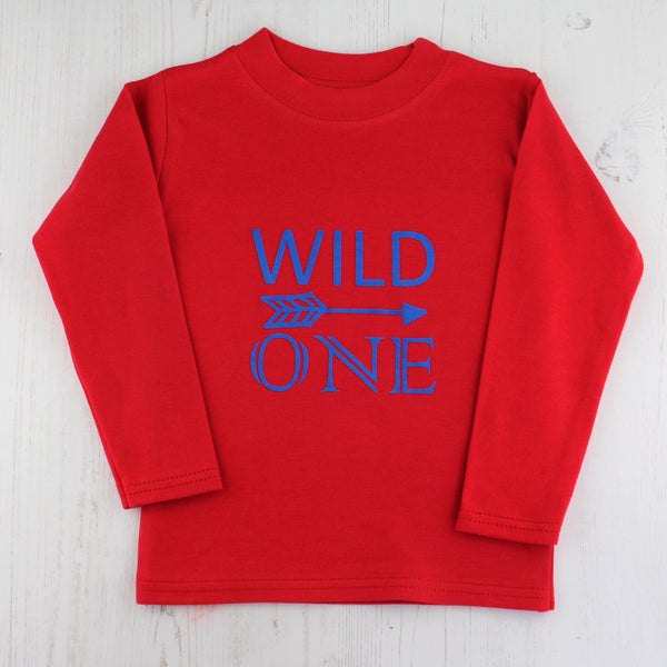 Wild One First Birthday T Shirt, - Betty Bramble