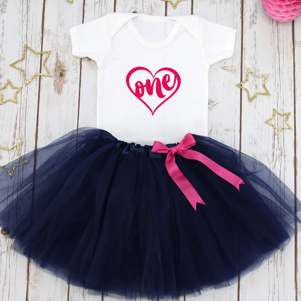 First Birthday Tutu Outfit, - Betty Bramble