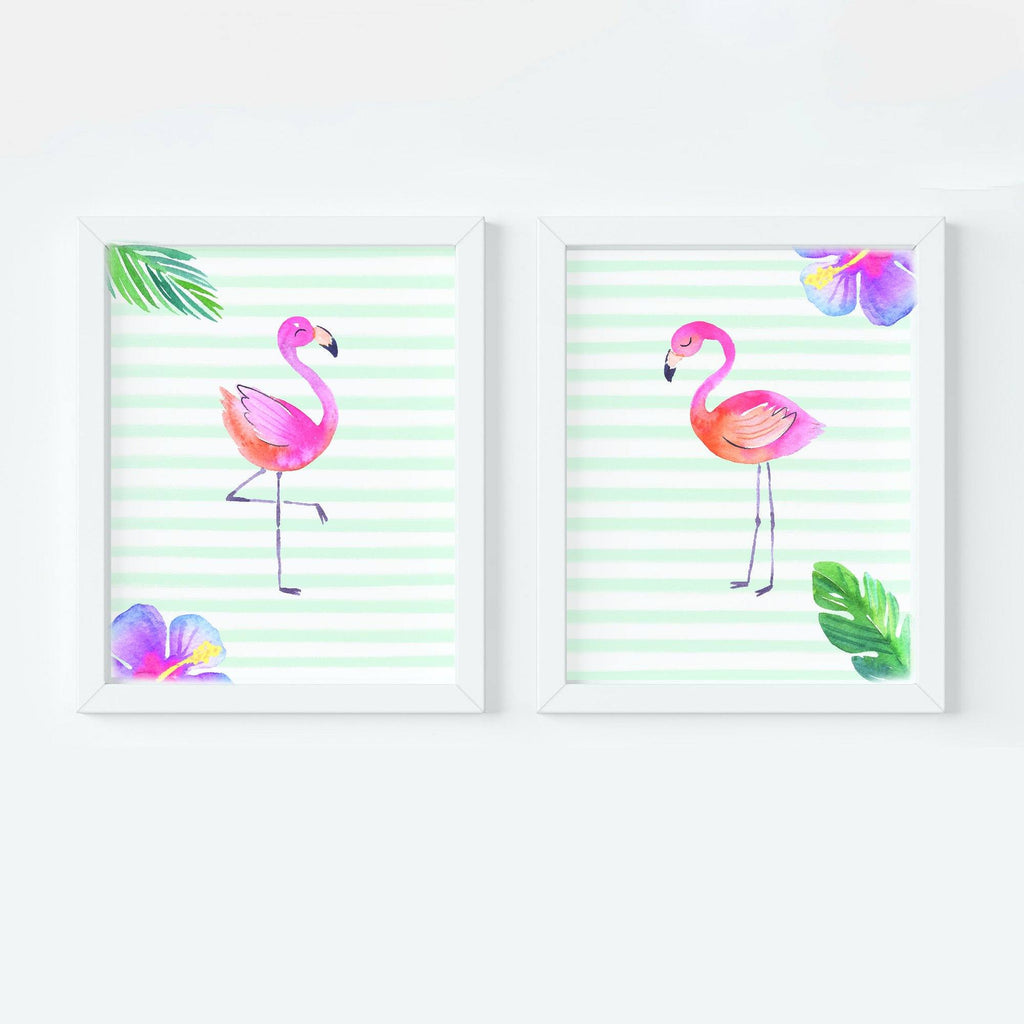 Flamingo Nursery Art Print Set,Art Print - Betty Bramble