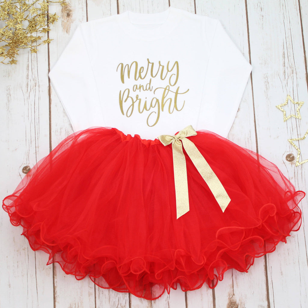 Merry & Bright Christmas Tutu Set,Christmas - Betty Bramble