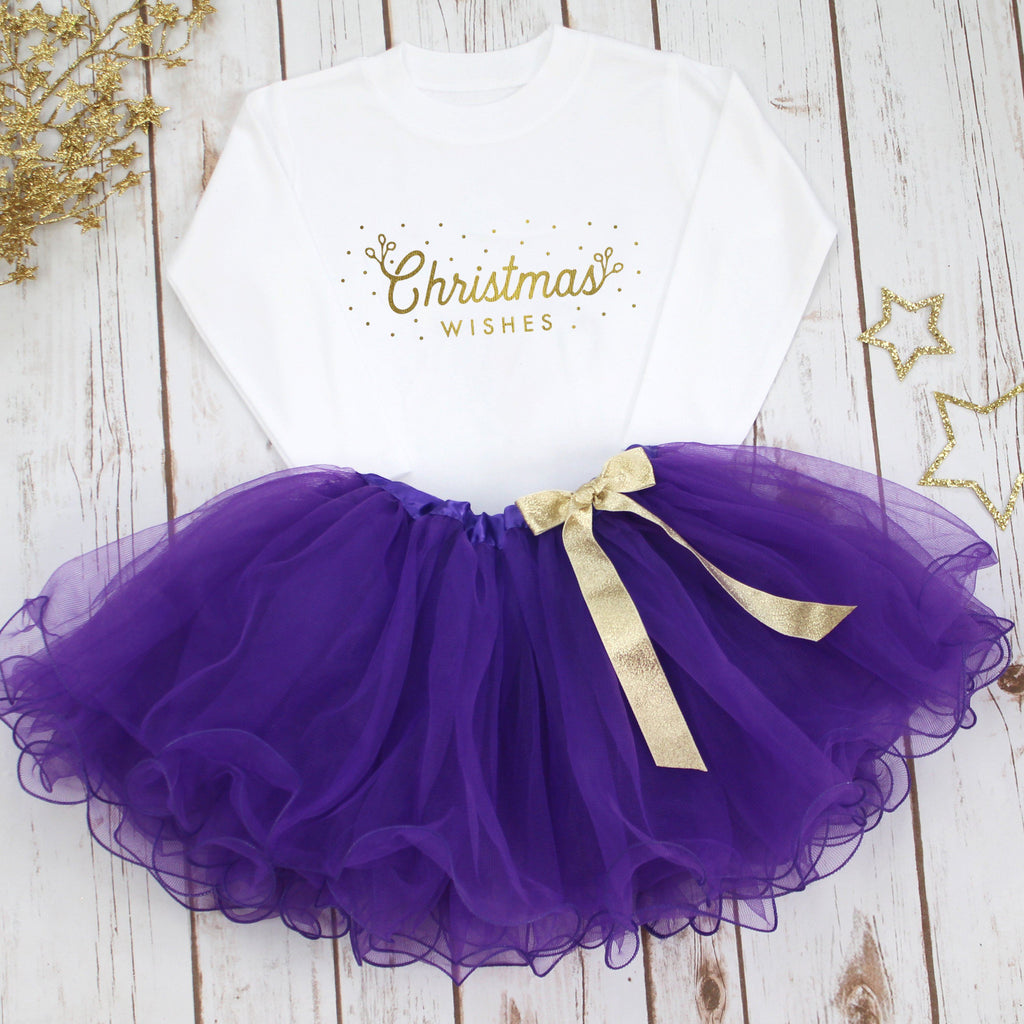 Christmas Wishes Christmas Tutu Set,Christmas - Betty Bramble
