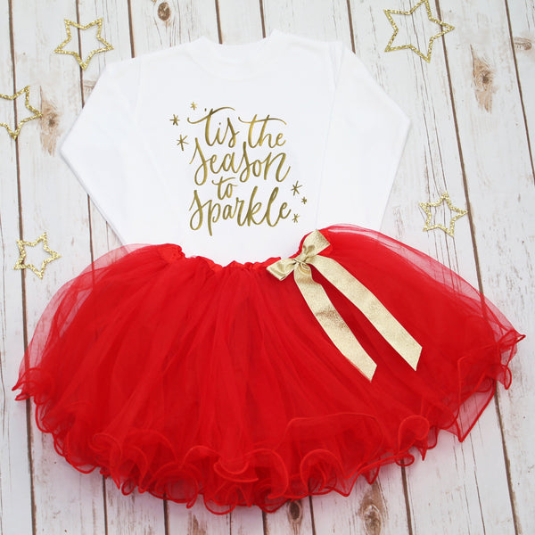 Christmas Tutu Outfits.Tutus Betty Bramble