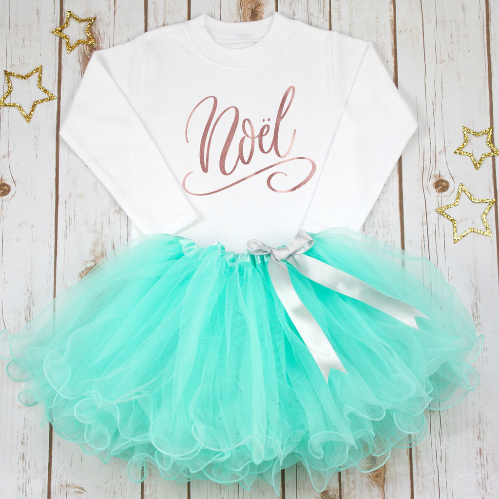 Noel Christmas Tutu Set,Christmas - Betty Bramble