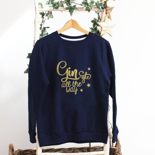 Ladies Christmas Jumper - Gingle all the way,Christmas - Betty Bramble