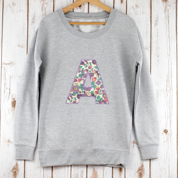 Ladies Liberty Personalised Sweatshirt - Betsy Ann,Christmas - Betty Bramble