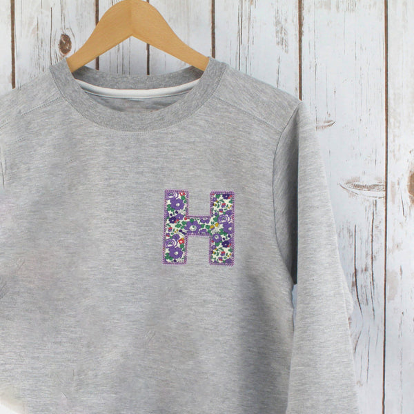 Ladies Liberty Personalised Sweatshirt - Betsy,Ladies Sweatshirt - Betty Bramble