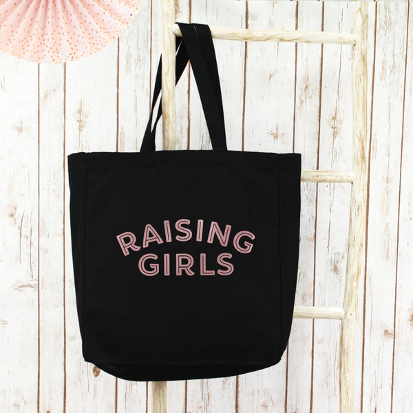Raising Girls Large Shopper Tote Bag, - Betty Bramble