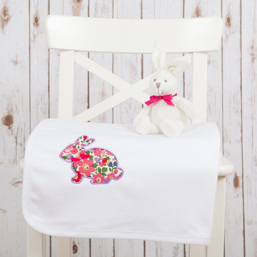 Liberty Bunny Baby Blanket,Baby Blankets - Betty Bramble
