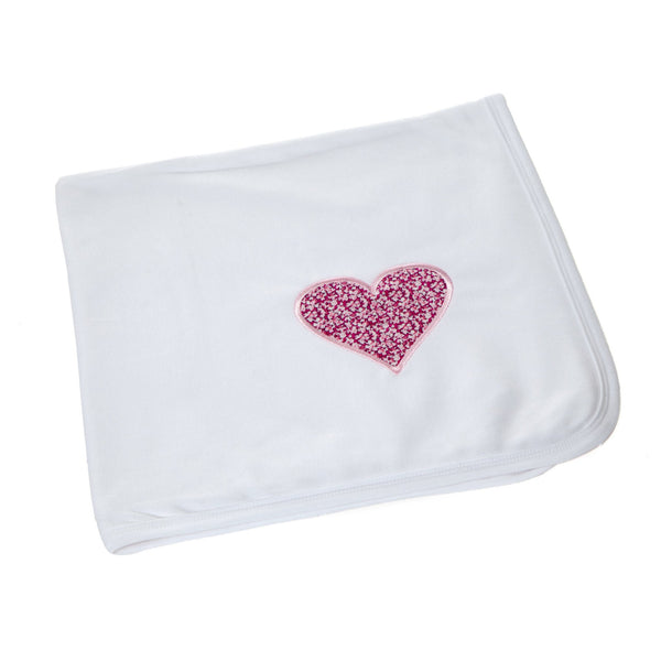 Liberty Heart Blanket,Baby Blankets - Betty Bramble