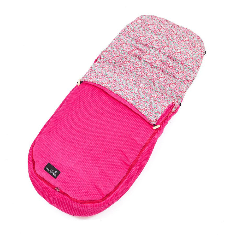 Award winning pink Liberty footmuff