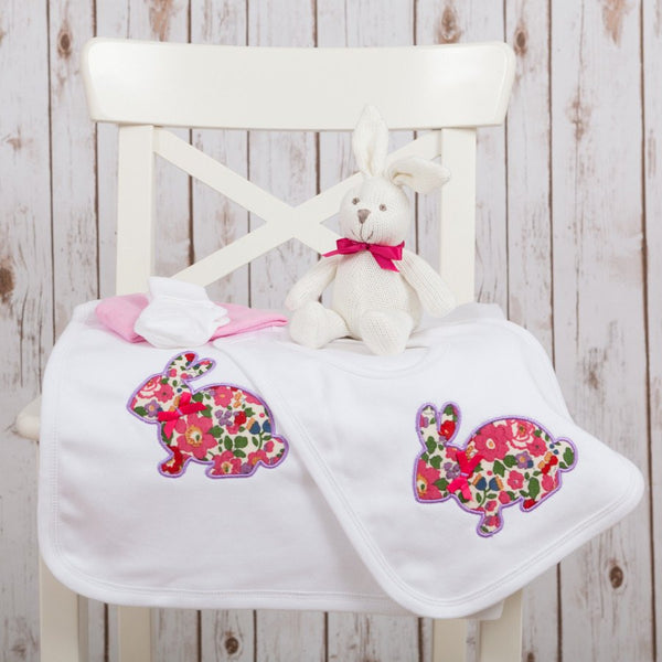 Liberty Bunny Baby Gift Set,Personalised Baby Gifts - Betty Bramble