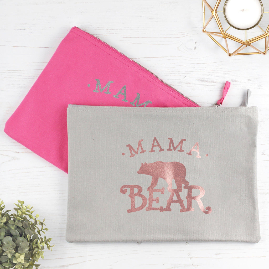 Mama Bear Make Up Bag, - Betty Bramble
