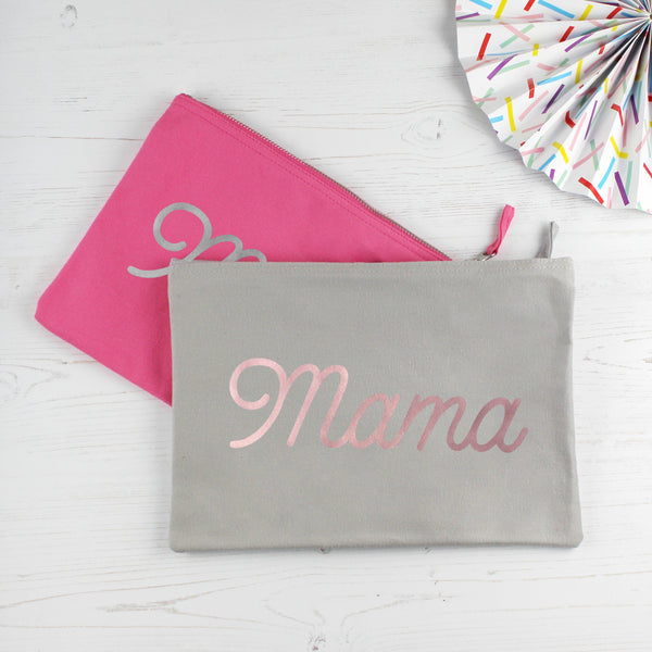 Mama Metallic Make Up Bag, - Betty Bramble