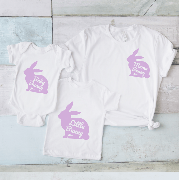 Family Matching Bunny T Shirts, - Betty Bramble