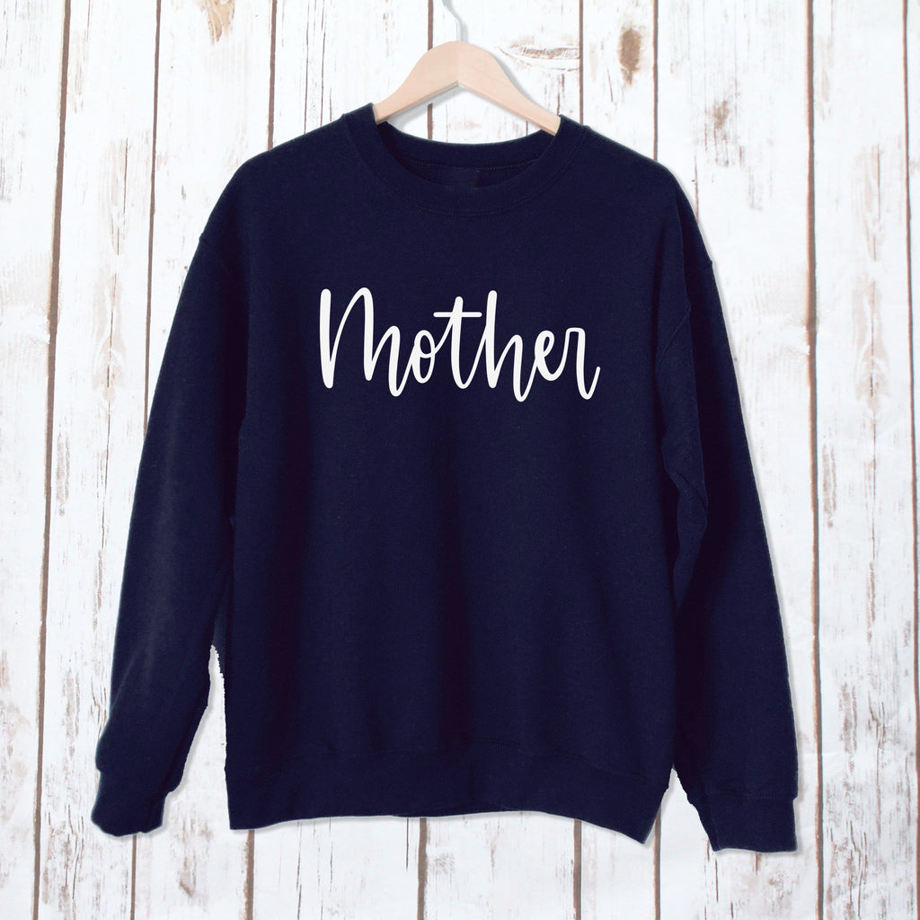 Mother Sweatshirt,Ladies Sweatshirt - Betty Bramble