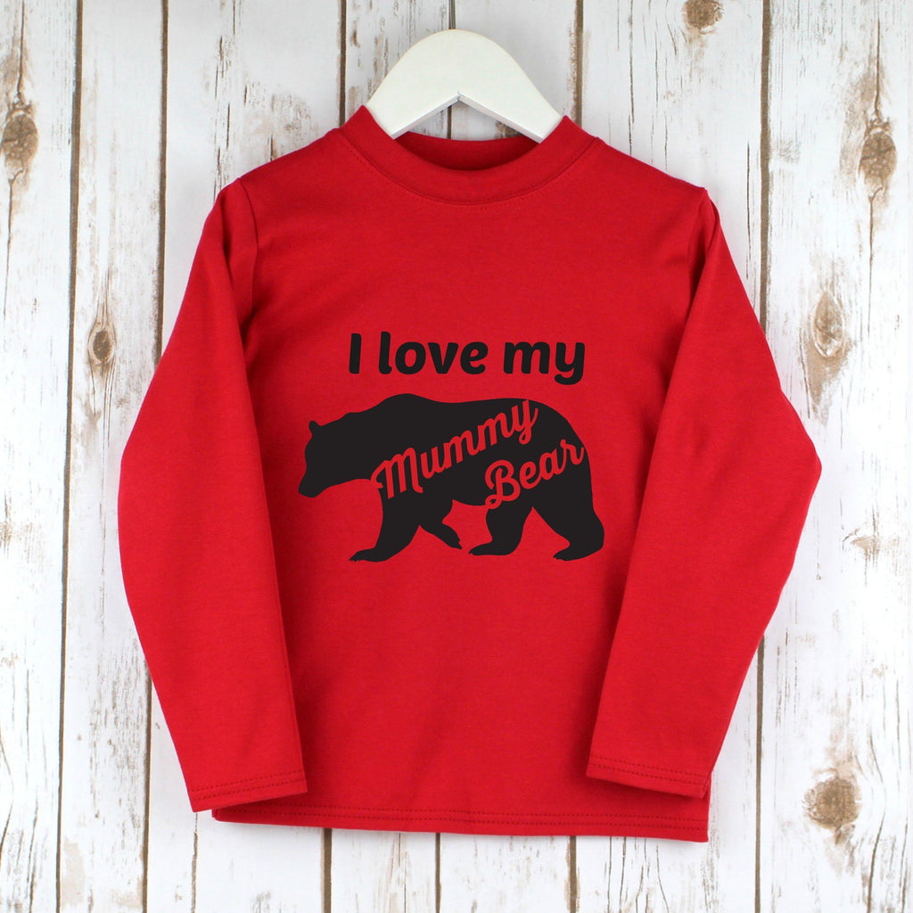 I love Mummy Bear T Shirt,Kids T Shirts - Betty Bramble