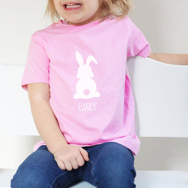 Personalised Easter Rabbit T Shirt