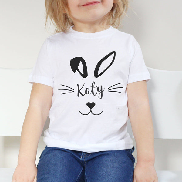 Personalised Child's Easter Bunny Tshirt
