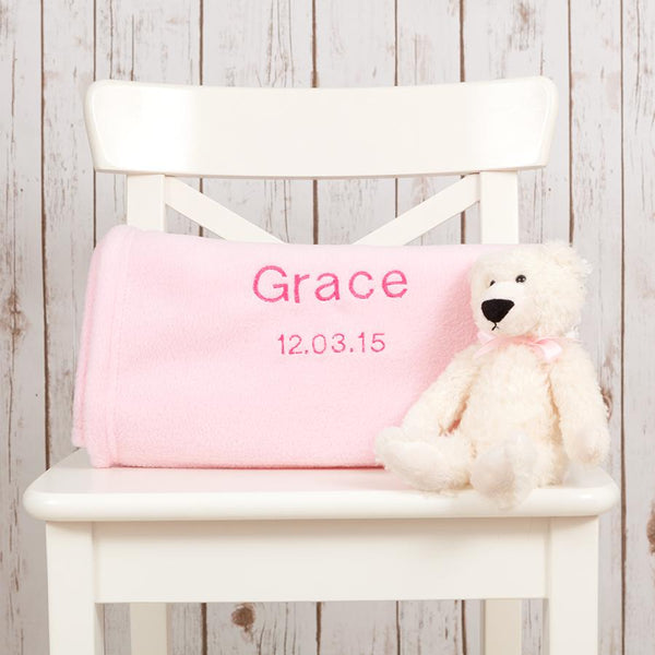 Personalised Baby Name Blanket,Baby Blankets - Betty Bramble