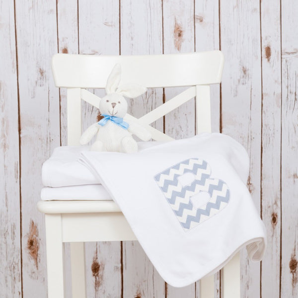 Personalised Chevron Baby Blanket,Baby Blankets - Betty Bramble