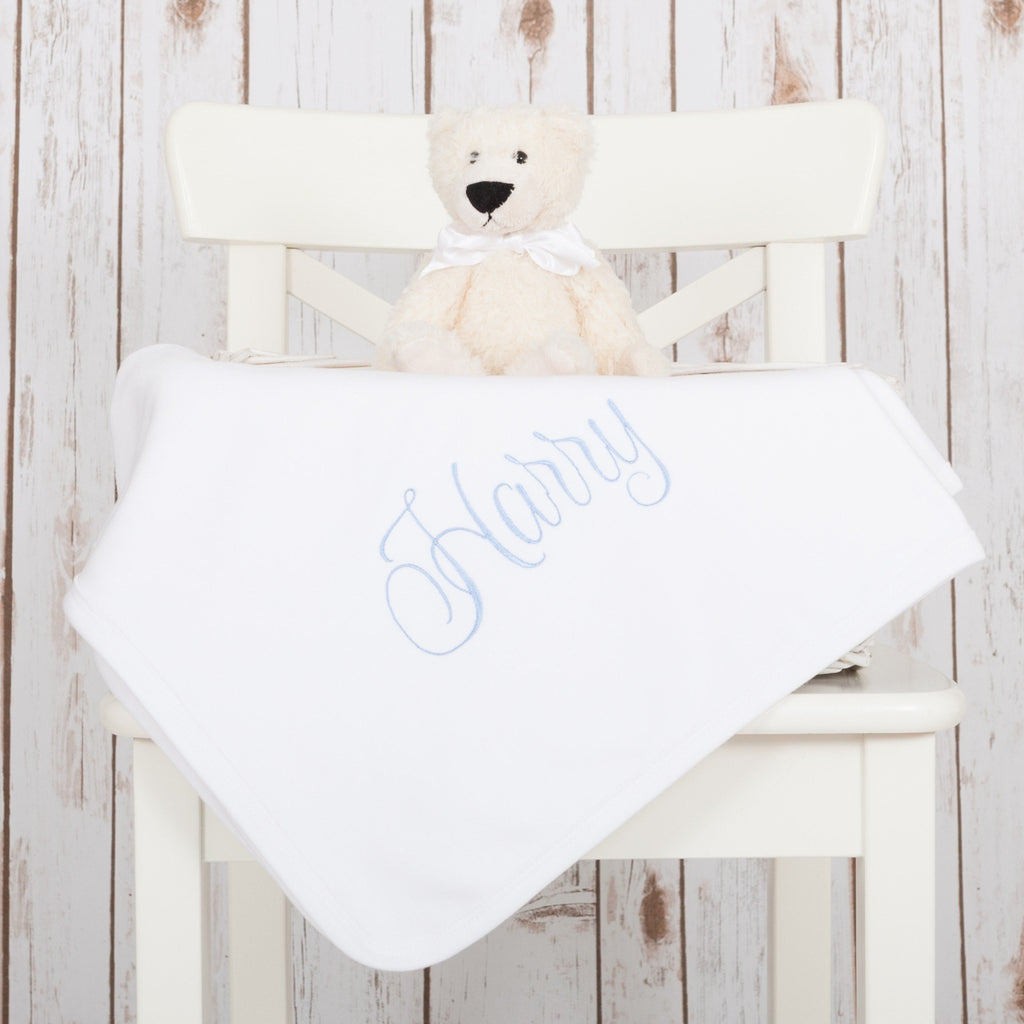Personalised Monogram Baby Blanket,Baby Blankets - Betty Bramble