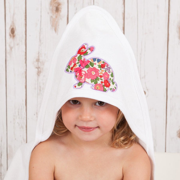 Liberty Bunny Baby Towel,Baby Towels - Betty Bramble