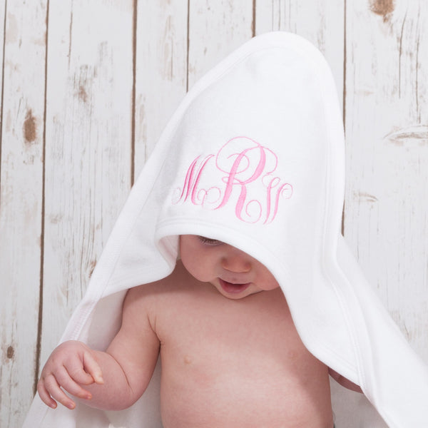 Personalised Monogram Baby Towel,Baby Towels - Betty Bramble