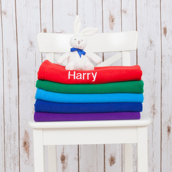Colourful Personalised Baby Blanket,Baby Blankets - Betty Bramble