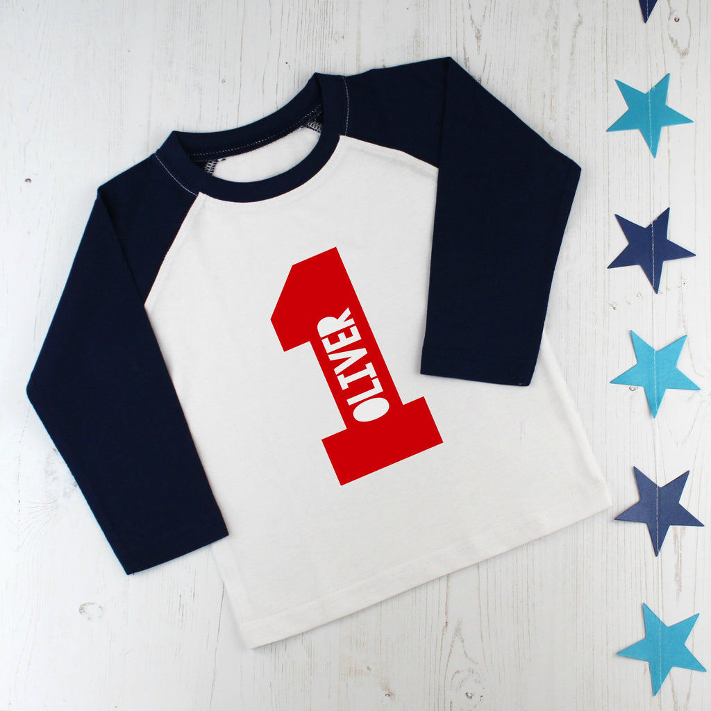 Personalised First Birthday T Shirt, - Betty Bramble