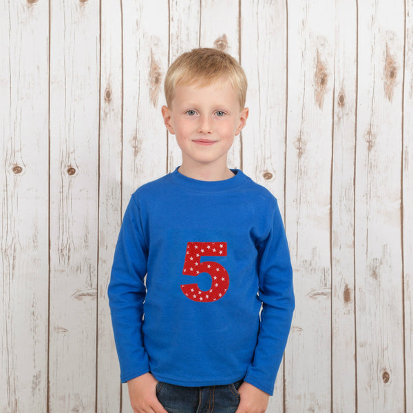 Personalised Star T Shirt,Kids T Shirts - Betty Bramble
