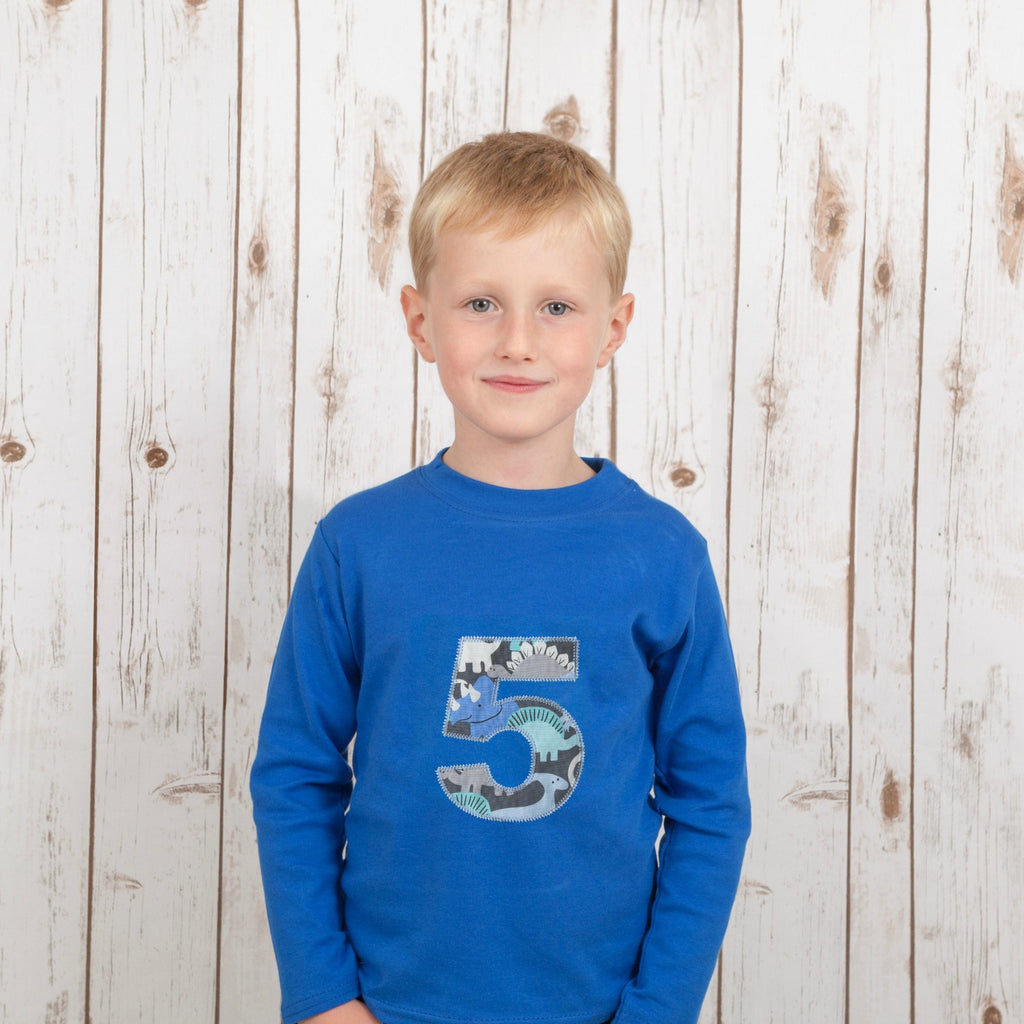 Personalised Dinosaur T Shirt,Kids T Shirts - Betty Bramble