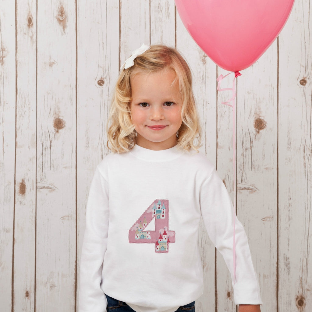 Personalised T Shirt - Pink Princess,Kids T Shirts - Betty Bramble