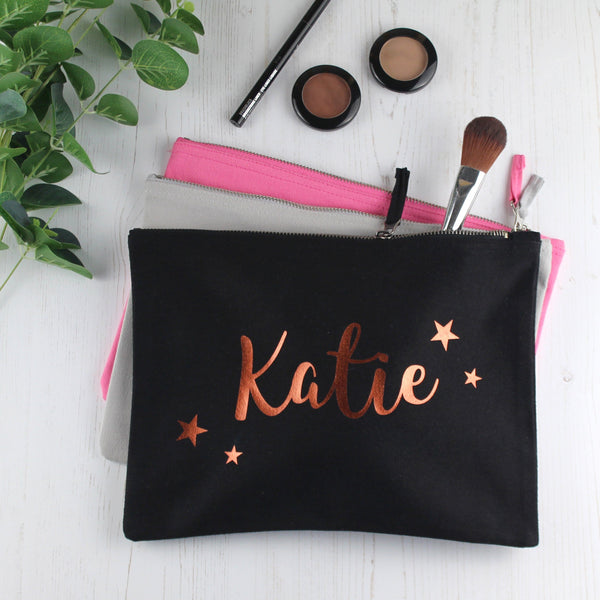 Personalised Make Up Bag with Name, - Betty Bramble