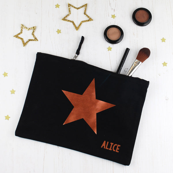 Copper Star Make Up Bag, - Betty Bramble