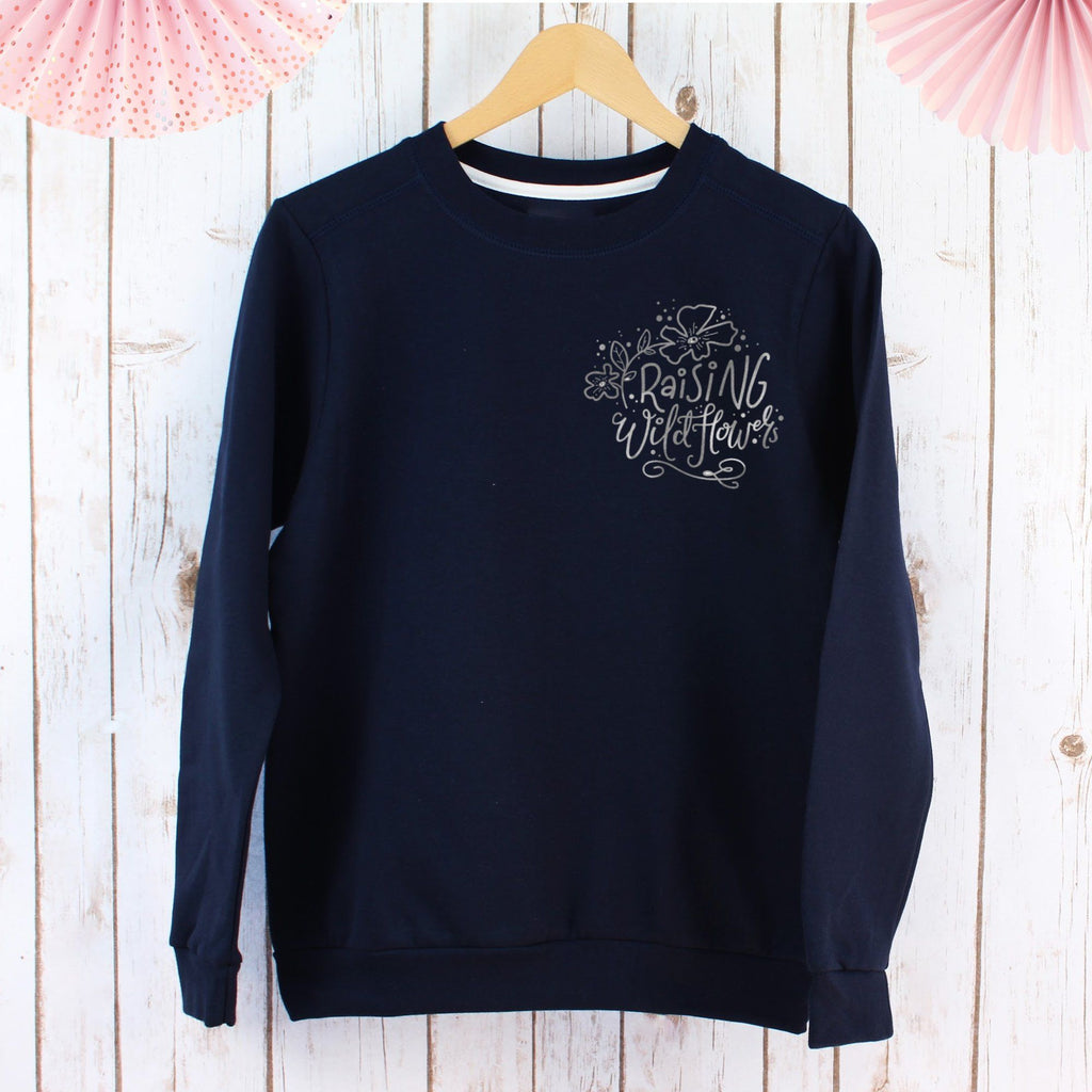 Raising Wildflowers Ladies Sweatshirt - Love Sparkle, - Betty Bramble