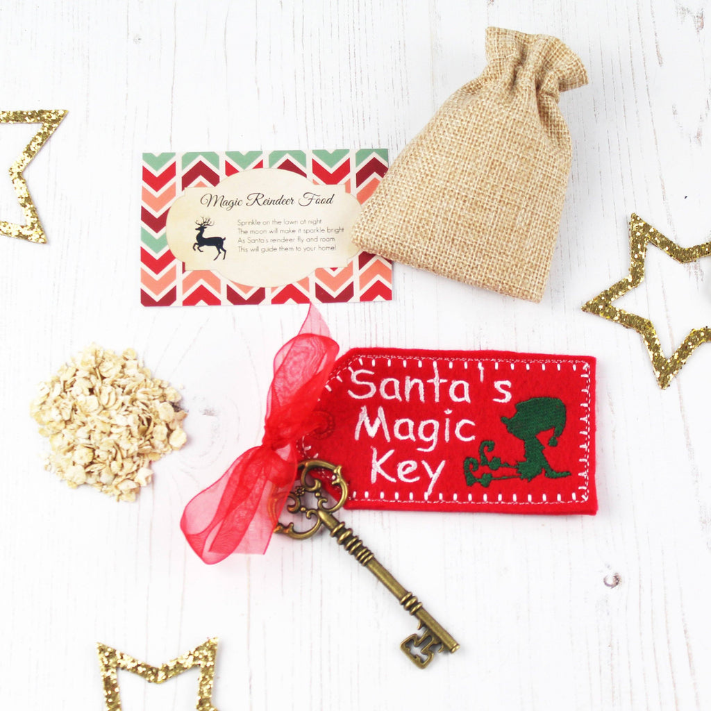 Reindeer Food and Magic Santa Key,Christmas - Betty Bramble