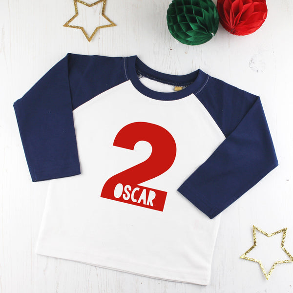 Personalised Second Birthday T Shirt