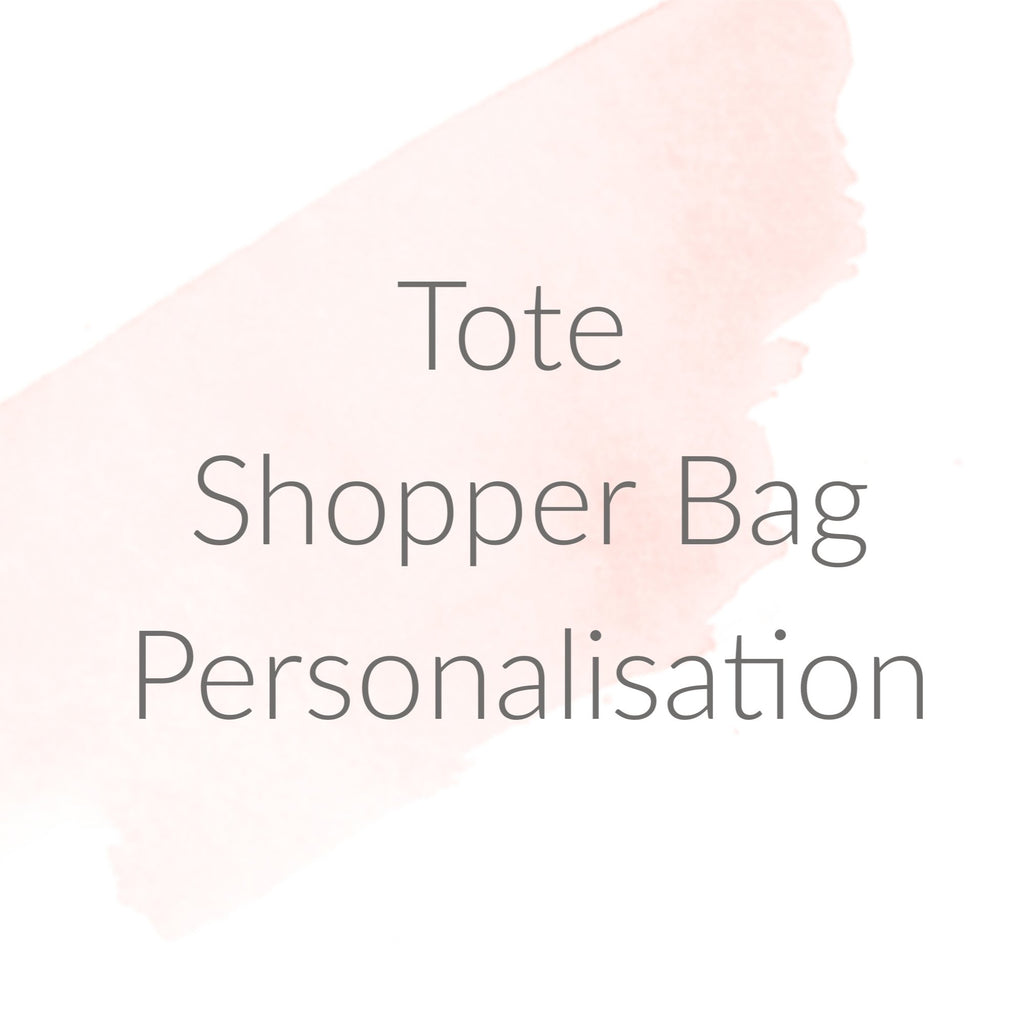 Add On - Tote Shopper Personalisation, - Betty Bramble