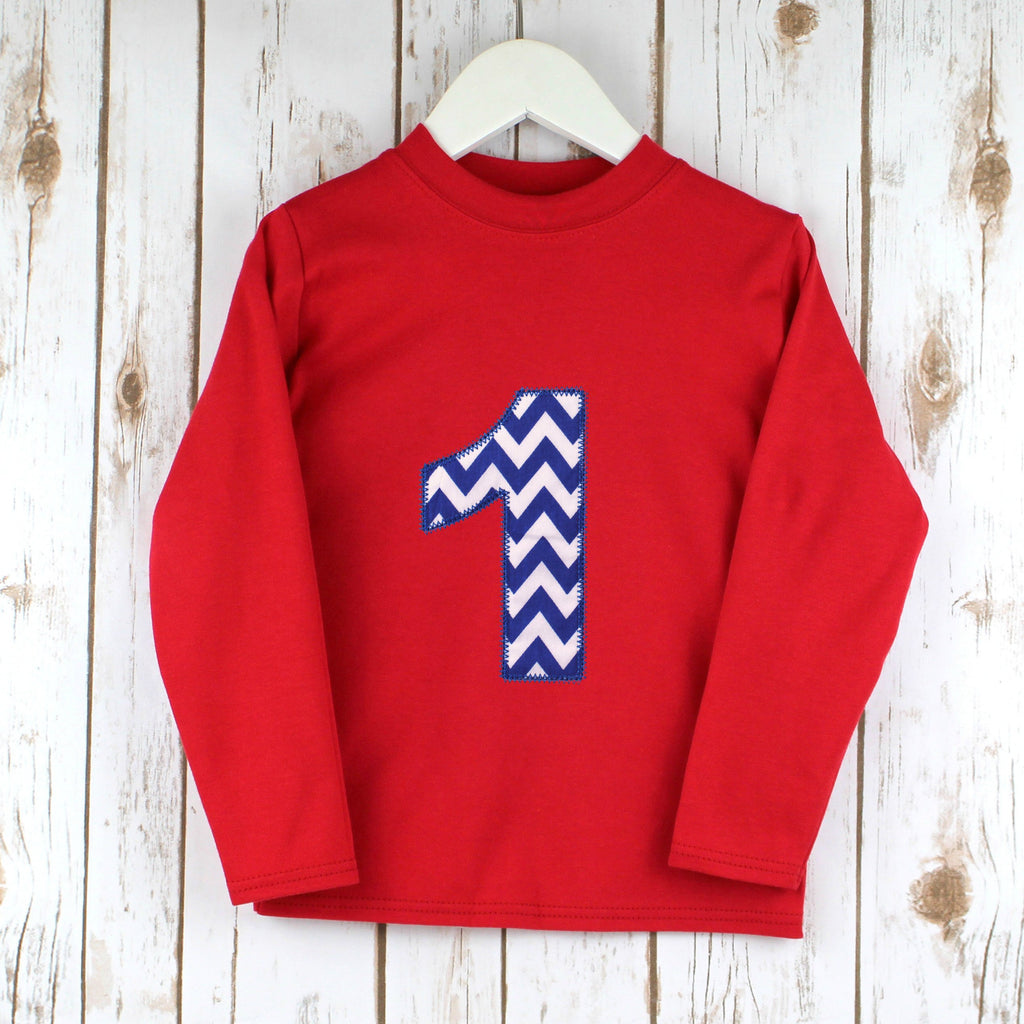 Personalised Chevron T Shirt,Kids T Shirts - Betty Bramble