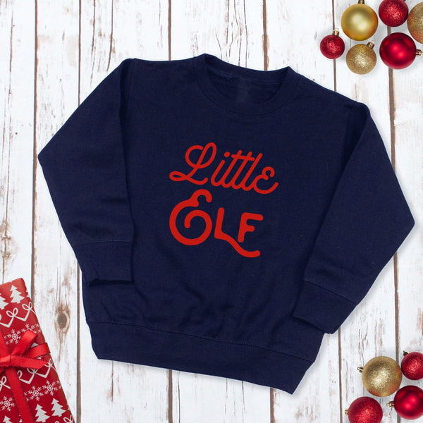 Little Elf Children's Christmas Jumper