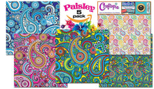 Paisley Pattern Self Adhesive Craft Vinyl Sheets | 4+1 Assorted Vinyl Pack for Cricut, Silhouette Cameo, Craft Cutters, Printers, Letters, Decals