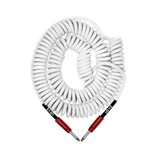 BULLET CABLE 30′ GEARMANNDUDE SIGNATURE WHITE COILY CABLE OF LOVE - Bullet Cable