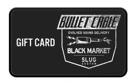Bullet Cable Gift Card - Bullet Cable