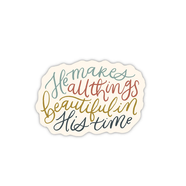 All Things Beautiful Sticker