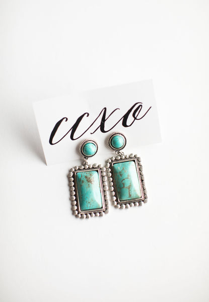 Annie Turquoise Earrings