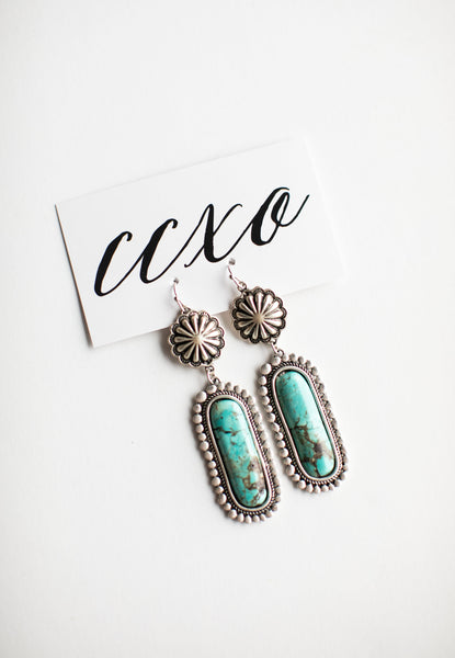 Montana Turquoise Earrings